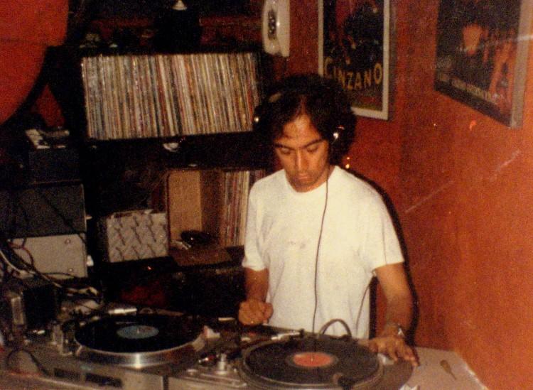 DJ en los 80's